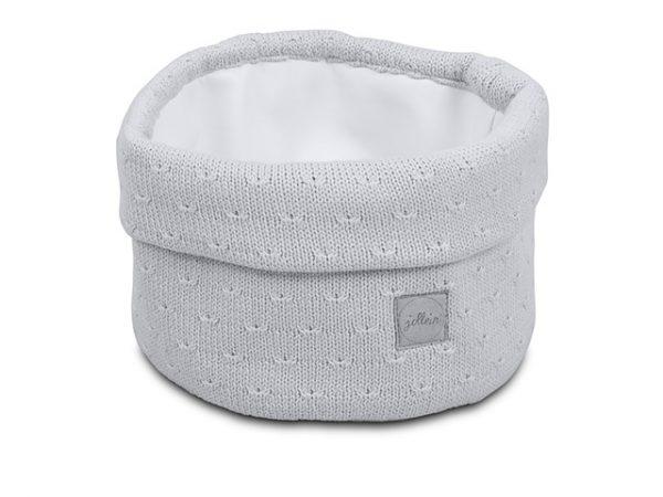 Mandje Jollein Soft Knit Light Grey