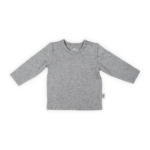 jollein shirtje speckled grey