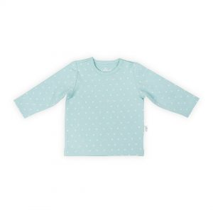 jollein shirt hearts soft green