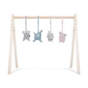 jollein babygym confetti monsters