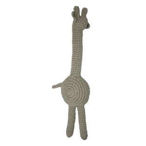 fair and cute giraf light grey