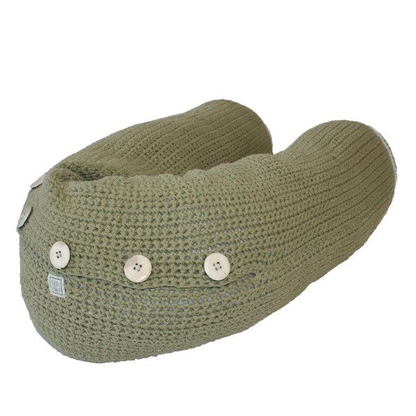 fair and cute voedingskussen olive green