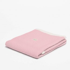 ledikantdeken zomer fair and cute light pink