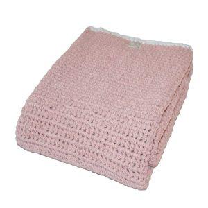 wiegdeken fair and cute mamas4mamas light pink