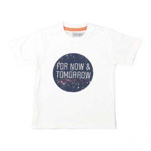 Dirkje baby t-shirt wit