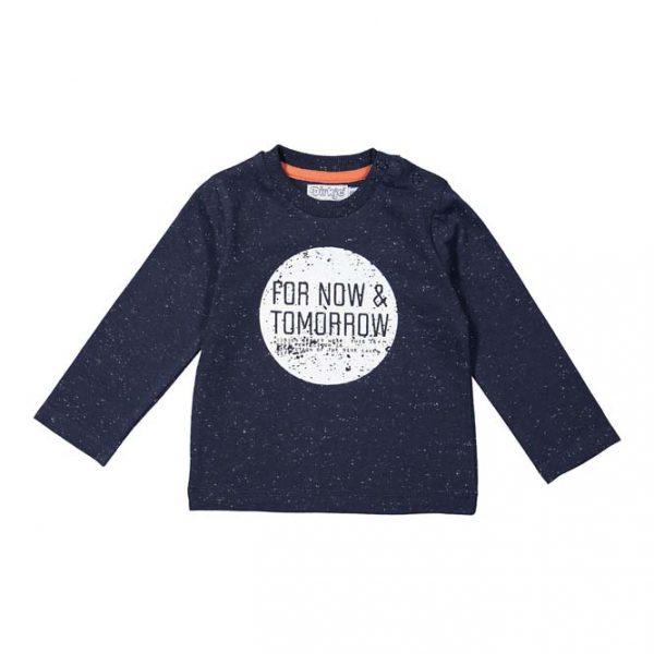 Dirkje baby Shirt lange mouwen donkerblauw