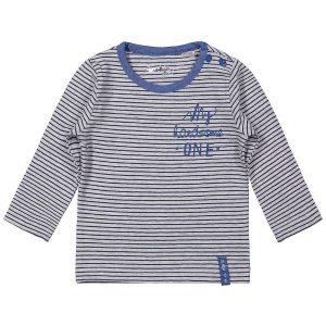 Dirkje baby basic shirt grijs