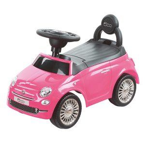 Loopauto Fiat Roze