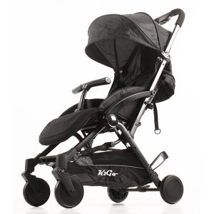 buggy K2 Go Plus Zwart