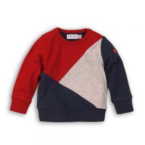 Dirkje trui navy+rood