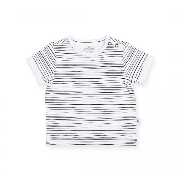 Jollein shirt black stripes