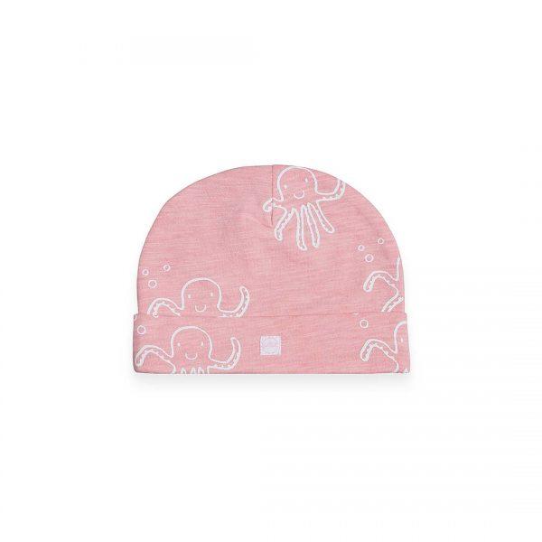 Jollein hat octopus pink