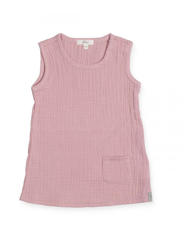 Jollein jurkje wrinkled pink