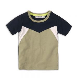 Dirkje T-shirt light green + navy