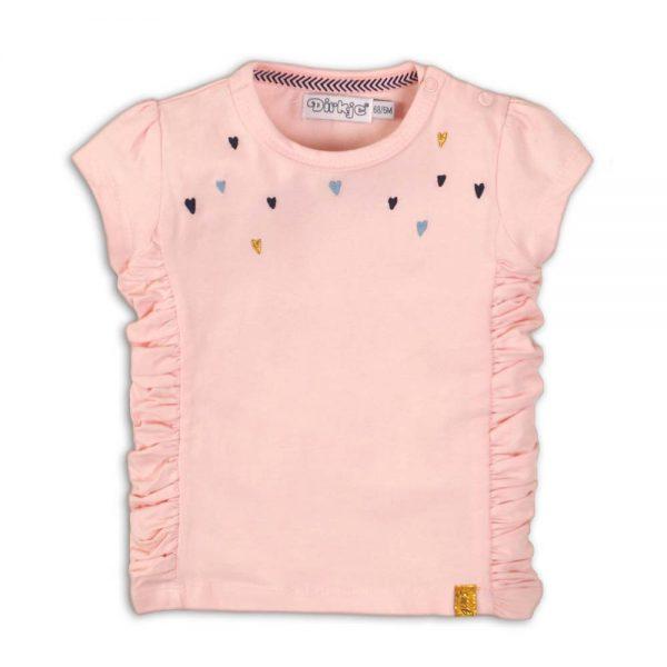 Dirkje t-shirt light pink