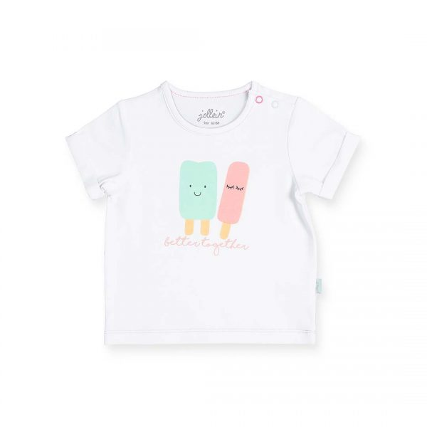 Jollein happy ice cream shirt