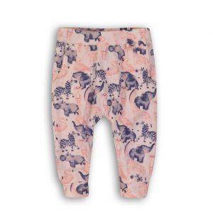 Dirkje broekje roze + blauw + wit