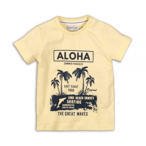 Dirkje t-shirt geel jongens