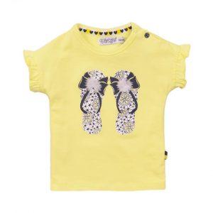 Dirkje t-shirt geel