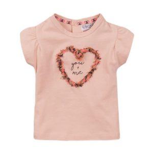 Dirkje E-LOVE t-shirt roze