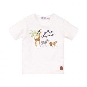 Dirkje t-shirt paradise wit