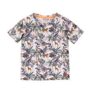 Dirkje t-shirt jungleprint