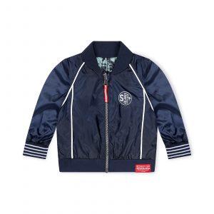 Dirkje reversible jacket navy blauw