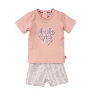 Dirkje meisjes - setje t-shirt + broekje